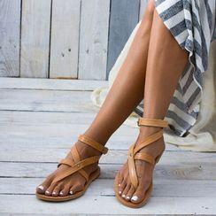 Cinnabelle - 踝带多带凉鞋