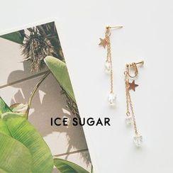 ICE SUGAR - Star Fringe Earring