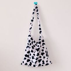 Hello minto - Patterned Fleece Tote Bag