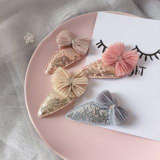 Sweet la Vie - Kids Sequined Bow Hair Clip