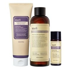 Dear, Klairs - Value Pack - Supple Preparation All-Over Lotion 250ml + Facial Toner 180ml + 30ml