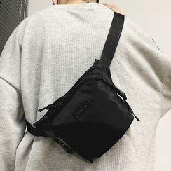 SUNMAN - Plain Zip Sling Bag