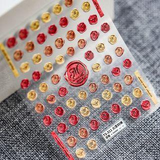 MAGICO(マジコ) - Wax Seal Print Nail Art Stickers