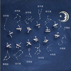 Zatanna - 925 纯银星座耳挂