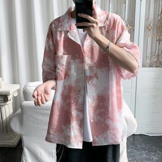 VEAZ - Short-Sleeve Tie-Dyed Shirt