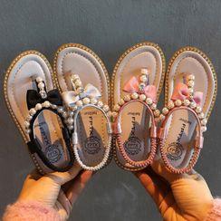 Cool Kid - 小童仿珍珠涼鞋