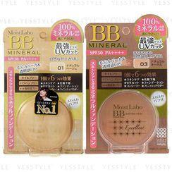 明色 - Moist Labo BB礦物粉底液 SPF 50 PA++++ - 2 款