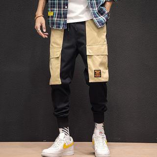 Andrei - Paneled Cargo Pants