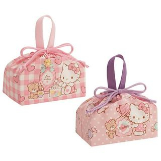 Skater - Hello Kitty Drawstring Lunch Bag Set (2 Pieces)