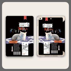 Roccia - Cat Print iPad Case