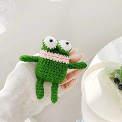 Phone in the Shell - Frog Knit AirPods Earphone Case Skin