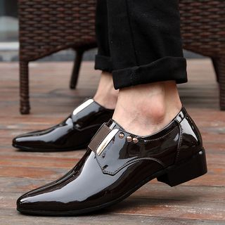 WeWolf - 真皮漆皮樂福鞋