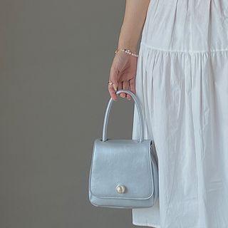 NiniChloe - Faux Pearl Handbag