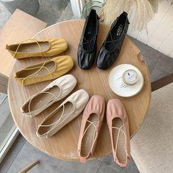 HOGG - Strappy Ballet Flats