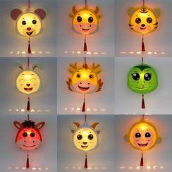 Little Cubs - 卡通生肖燈籠DIY材料包