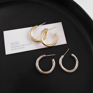Jamfune - Open Hoop Earrings