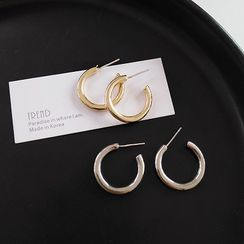 Jamfune - Open Hoop Earrings