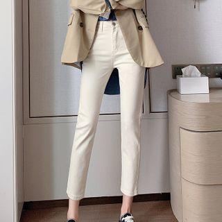 Korenina - 高腰窄身牛仔裤