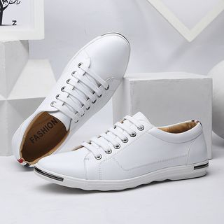 Taragan - Faux Leather Sneakers