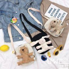 Yunikon - Animal Doll Crossbody Bag