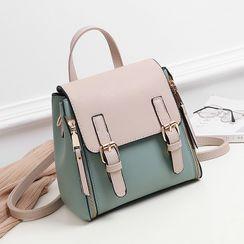 Aquilegia - Convertible Buckled Crossbody Bag