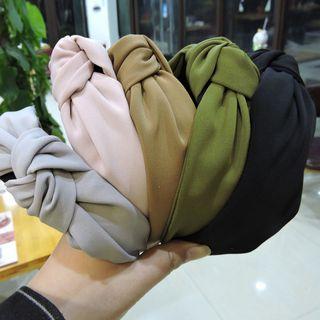 Azalea - Knotted Fabric Headband