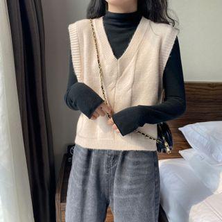 Luminato - V-Neck Knit Vest