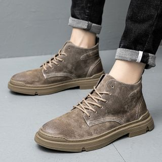 Scherokee - Lace-Up Ankle Boots