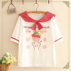 Kawaii Fairyland - Printed Short-Sleeve T-Shirt
