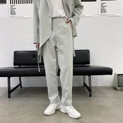 Bjorn - Straight-Cut Dress Pants
