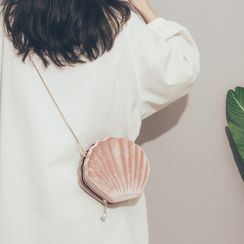 Felicity - 贝壳链条带斜挎包
