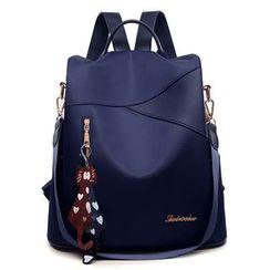 Genova - Plain Panel Backpack