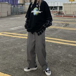 Giuliana - 高腰寬腿褲