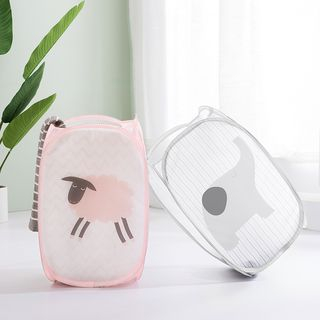 Good Living - Animal Print Laundry Basket