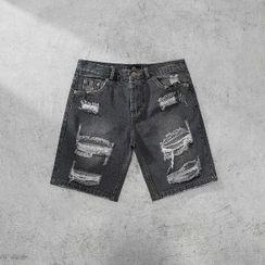 MRCYC - Distressed Denim Shorts
