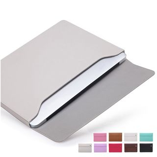 BAGGEST - 純色仿皮手提電腦保護套