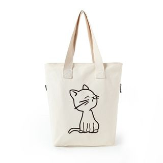 Lua Cotton Tote Shoulder Bag Various Designs