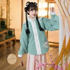 RIMIA - Traditional Chinese Cosplay Top / Skirt