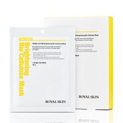 ROYAL SKIN - Prime Edition Brightening Bio Cellulose Mask 5pcs