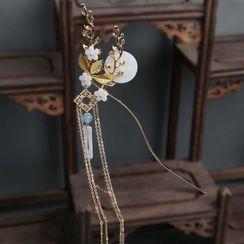 Tangier - 花朵月亮发簪