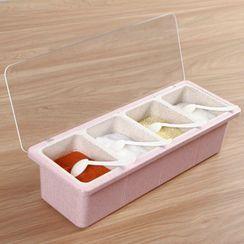 Kinboshi - 四合一調味料盒