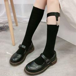 Sayaka(サヤカ) - Long Socks + Garter