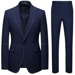 Ekorama - Set: Blazer + Straight-Cut Pants
