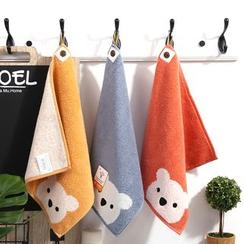 Wonder Home - Bear Print Kids Face Towel