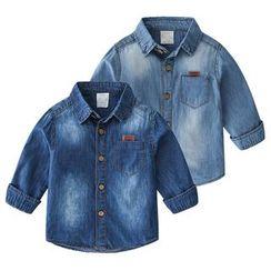 Seashells Kids - Kids Pocket Detail Denim Shirt