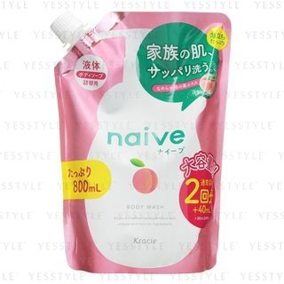 Kracie - Naive Body Wash Refill 800ml