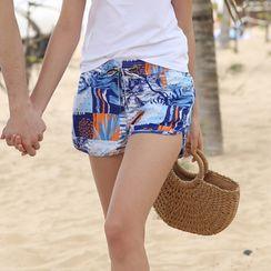 Saysmith - Couple Matching Swim Shorts