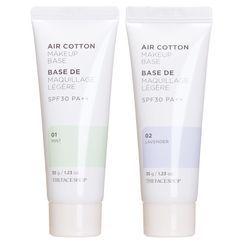 THE FACE SHOP - Air Cotton Makeup Base SPF30 PA++ (2 Colors)