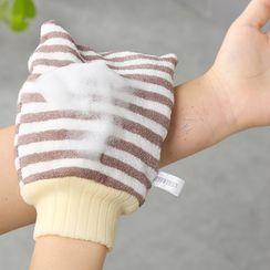 Manore - Striped Body Scrubber