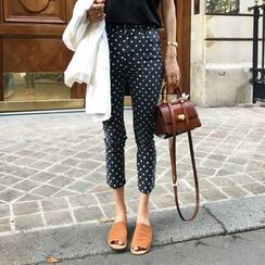 JStyle - Slim Fit Dotted Jeans